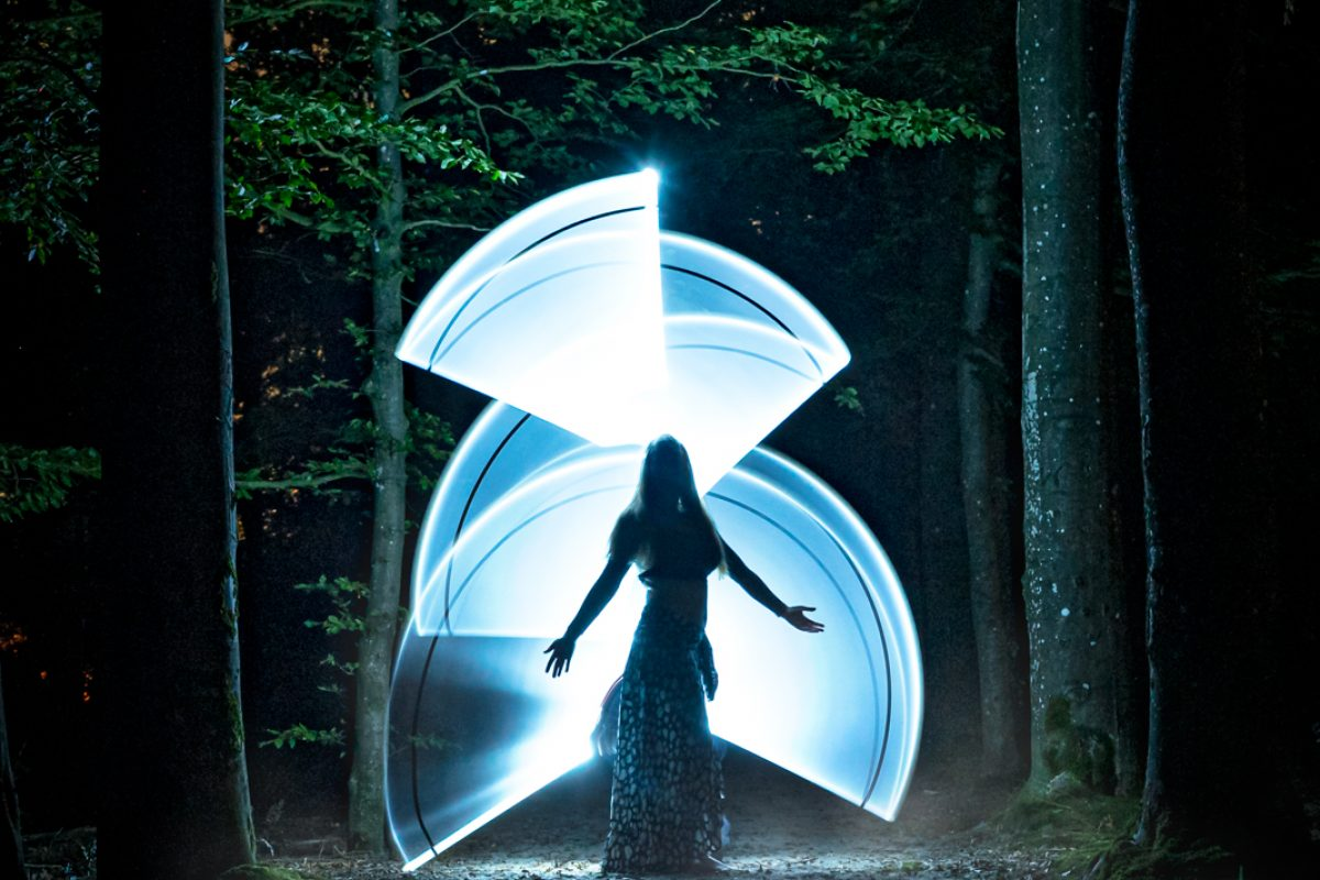 Eerensfotografie lightpainting