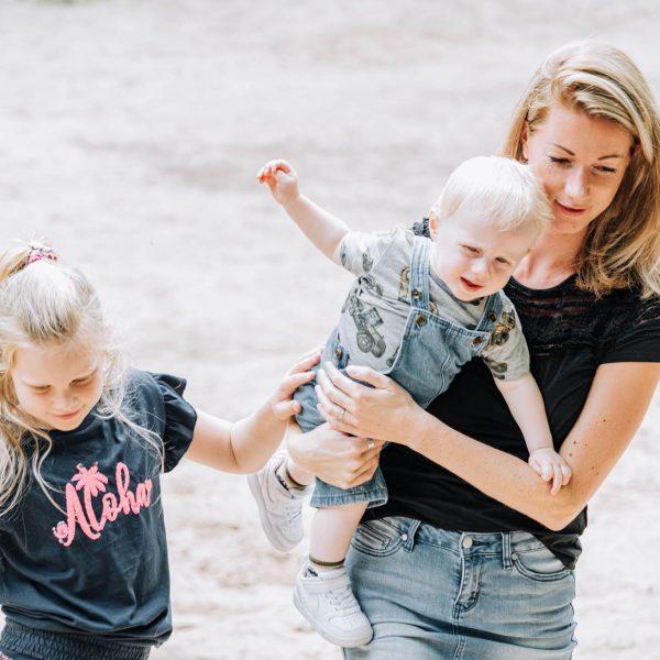Familieshoot gezinsfoto's